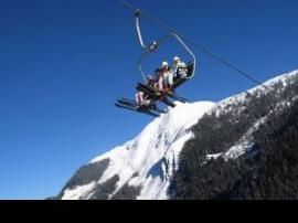 Ski aux Alpes d'Isère