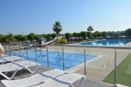 Camping - Resort Els Pins, Malgrat de Mar (Barcelone)