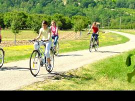 Recorrer en bicicleta el valle del río Lot