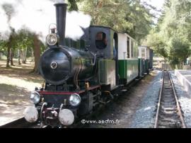 Tren histórico del lago Rillé