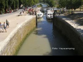 Canal du Midi en L'Herault