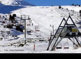 Skier à Les Neiges Catalanes