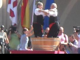 Les fêtes de la vendange Rioja à Logroño