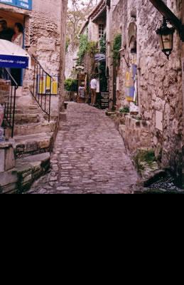 Les Baux en Provence, preciosa población enclavada…