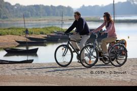 El Loira en bicicleta en Maine et Loire